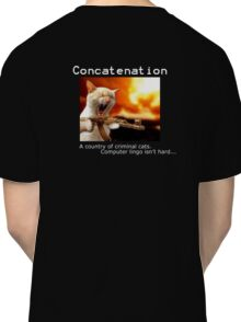 """""""concatenation"""" Tshirt Classic T-Shirt"""