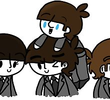 The Beatles  by CharlieeJ