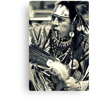 Warrior for Peace Canvas Print