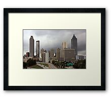 """ATLANTA ""  Framed Print"