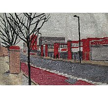 Tapestry, Seven Sisters Road Photographic Print