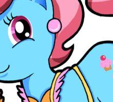 My Little Pony Friendship is Magic Mrs. 'Cup' Cake Chibi Sticker Sticker