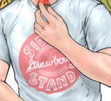 Sid's Strawberry Stand Sticker