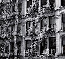 Fire Escapes by Sam Warner