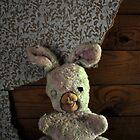 Creepy bunny doll by ashley hutchinson
