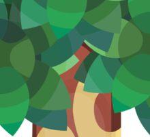 Town Trees Sticker