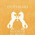 Dothraki iPhone Case by Alexandra Grant