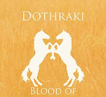 Dothraki iPhone Case by alexandramarieg