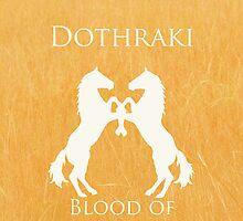 Dothraki iPhone Case by Alexandra Grant