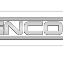 ENCOM Large Logo Sticker