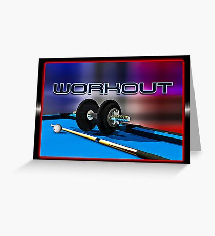 Work Out Greeting Card