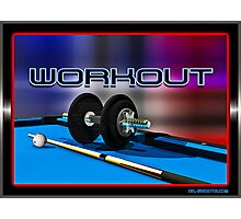 Work Out Photographic Print