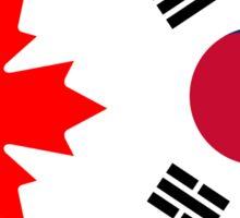 Canada & South Korea Sticker