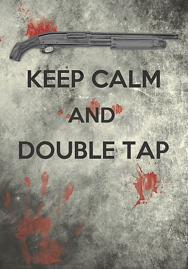 Keep Calm & Double Tap by Konoko479