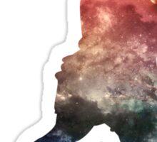 Galaxy Baller Sticker