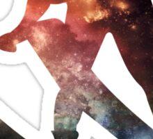 Galactic Skiier Sticker