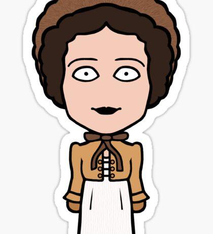 Elizabeth Bennet (sticker) Sticker