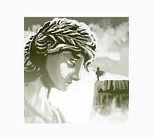 the spartan challenging the greek goddess Athena Unisex T-Shirt