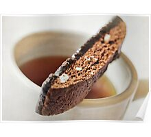 Biscotti and Tea Poster