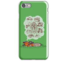 The Dreams of Wonder Chainsaw iPhone Case/Skin