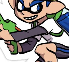 Splatoon Sticker - Inkling Boy (Blue) Sticker