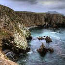 Cathedral Cove - Anacapa Island by Eddie Yerkish