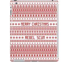 Merry Christmas Rebel Scum iPad Case/Skin