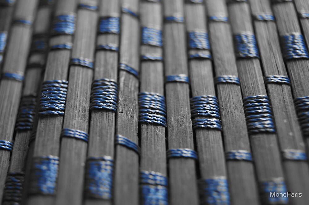 wood mat blue color by MohdFaris