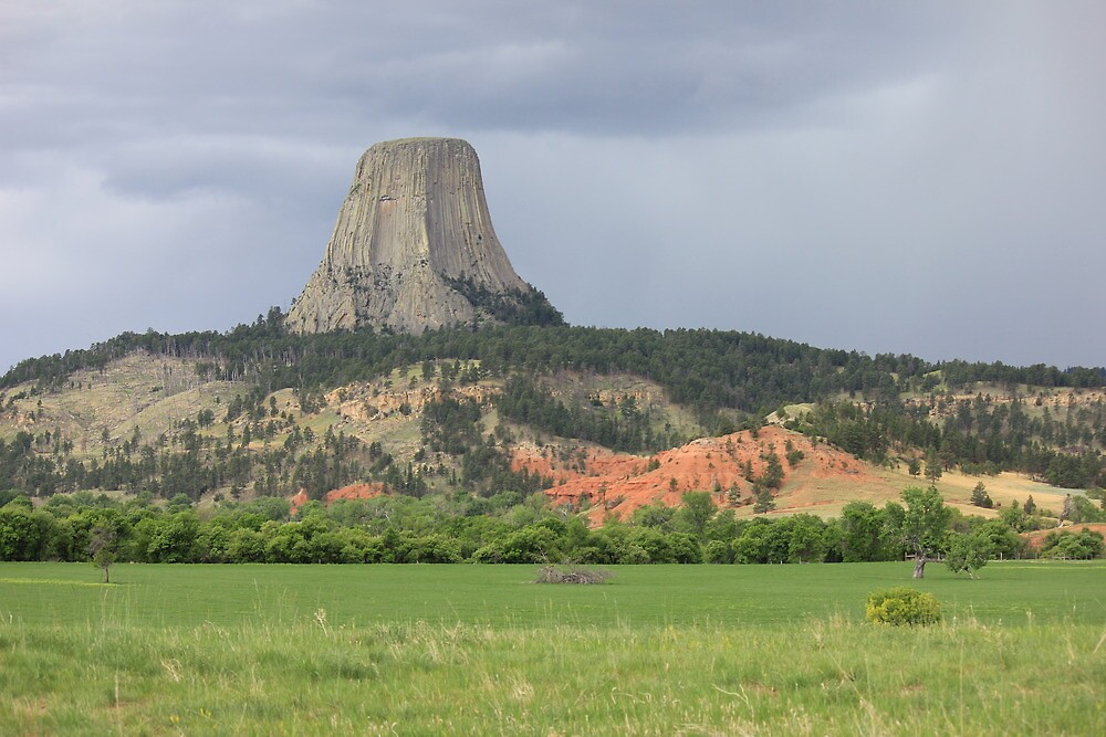 Devils Tower by Jeffrey Sims