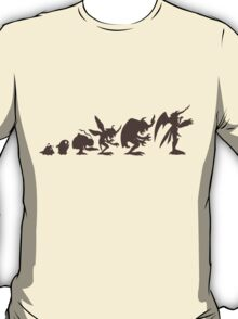 Evolution of Monsters 4 (light version) T-Shirt