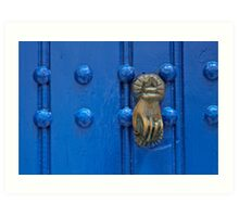 Knock with a knock Art Print
