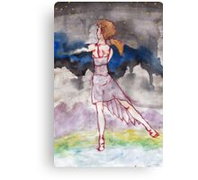 Dancing well into the night. Canvas Print