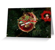 Christmas treasure Greeting Card