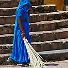 Sweep in Blue by KerryPurnell