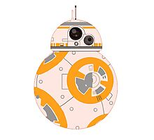BB8 Droid - Star Wars Photographic Print