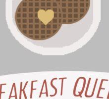 Breakfast Queen Sticker