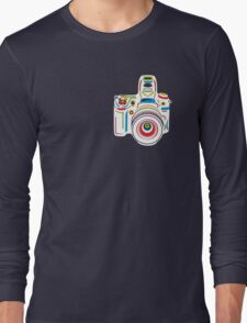 Rainbow Camera Fun Long Sleeve T-Shirt