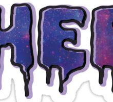 HEEL - Pastel D (Galaxy) Sticker