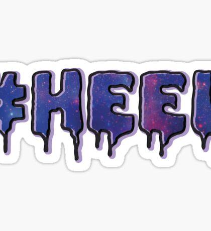 HEEL - Pastel D (Galaxy) Sticker