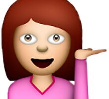 girl emoji by lazyville