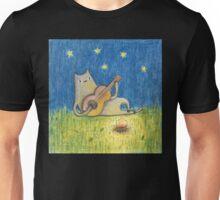 Campfire Cat Unisex T-Shirt