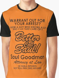 Who You Gonna Call? (Breaking Bad, Better Call Saul) Graphic T-Shirt