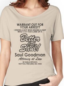 Who You Gonna Call? (Breaking Bad, Better Call Saul) Women's Relaxed Fit T-Shirt