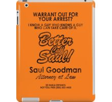 Who You Gonna Call? (Breaking Bad, Better Call Saul) iPad Case/Skin