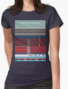 Footscray Womens Fitted T-Shirt