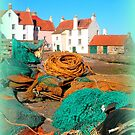 Fishing Nets at Pittenweem Harbour by ©The Creative  Minds