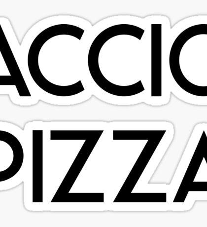 Accio Pizza Sticker