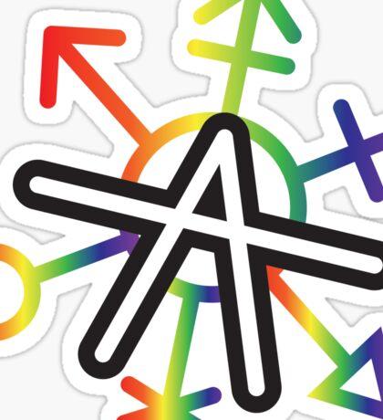 Gender Anarchy Sticker