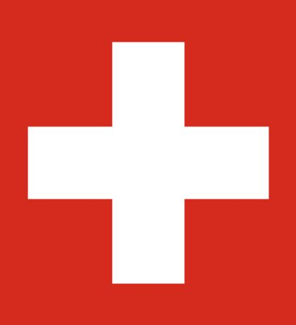 Switzerland National Flag T-Shirt - Swiss Sticker Bedspread Duvet Sticker
