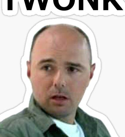TWONK. Sticker